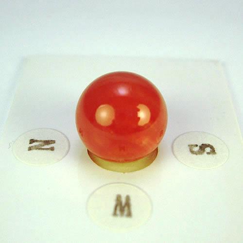 赤珊瑚 12.4mm ラウンド ジュエリールース dg989 画像