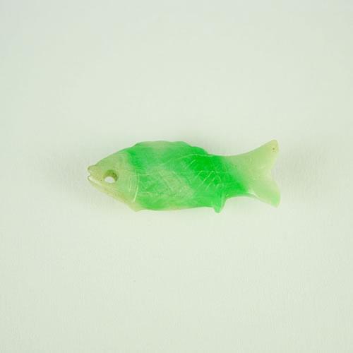 ヒスイ 魚カービング 2.43ct ジュエリールース dt471