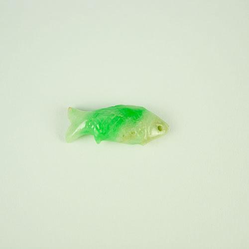 ヒスイ 魚カービング 2.43ct ジュエリールース dt471 画像