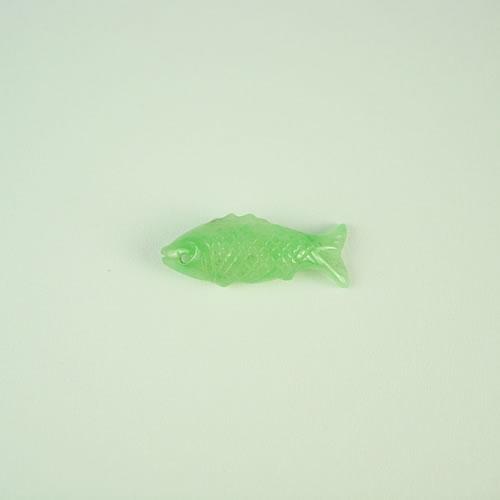 ヒスイ 魚カービング 2.77ct ジュエリールース dt472 画像
