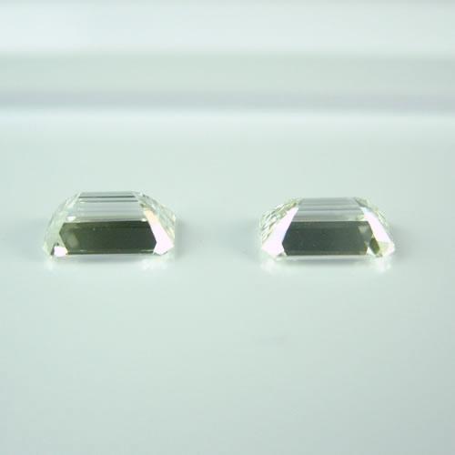 ダイヤ 0.65ct F.G・VVS-1 エメラルドカット ジュエリールース dz135 画像