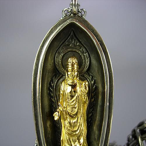 k18wg.k18(古美) 菩薩 携帯仏壇