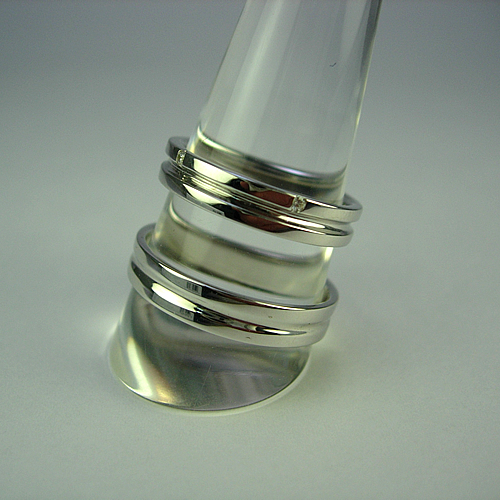 k18wg  ペアリング・結婚指輪 kw251 画像