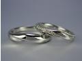 k18wg ペアリング・結婚指輪