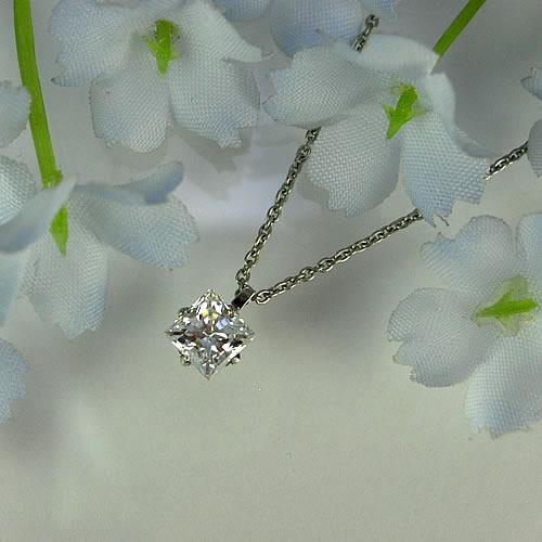 MARE(マーレ) スワロフスキー・プリンセスカット 5mm ネックレスジュエリー ma089