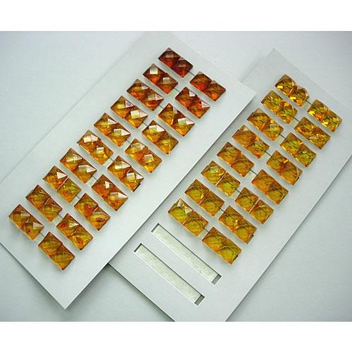 純チタン 琥珀 12mm  ピアスジュエリー mb109 画像