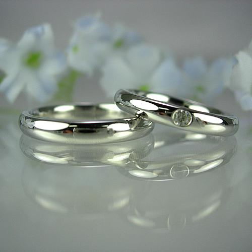 pt900 ペアリング・結婚指輪 pw016