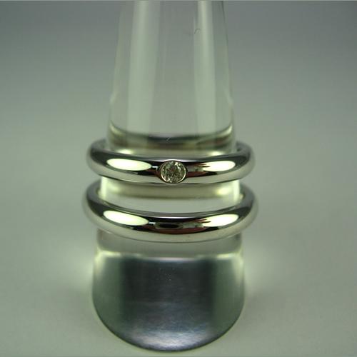 pt900 ペアリング・結婚指輪 pw016 画像