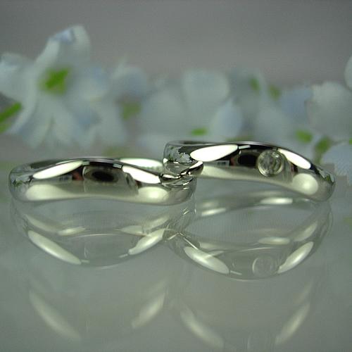 pt900 ペアリング・結婚指輪 pw033