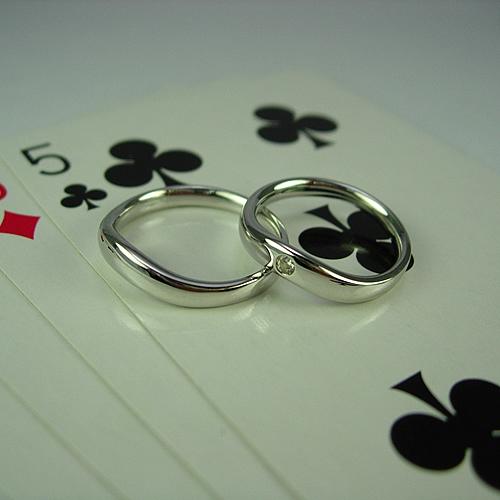pt900 ペアリング・結婚指輪 pw033 画像