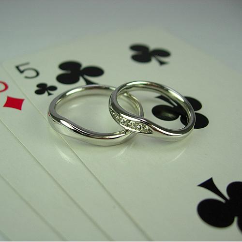 pt900 ペアリング・結婚指輪 pw036 画像