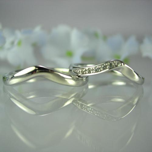 pt900 ペアリング・結婚指輪 pw240