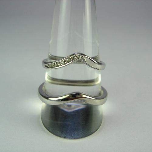 pt900 ペアリング・結婚指輪 pw240 画像