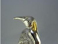 シルバー925 ペンギン02 タイタック・ブローチジュエリー