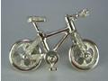 シルバー925 自転車01タイタック・ブローチジュエリー