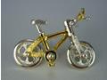シルバー925 自転車02bタイタック・ブローチジュエリー