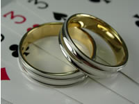 k18.pt900 コンビ結婚指輪・ペアリングジュエリー