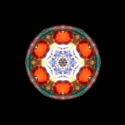 カレイドスコープ(万華鏡)ペンダント zkn201 画像