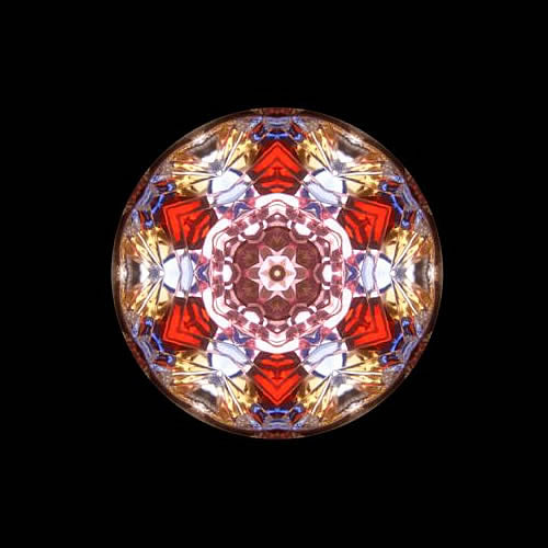 カレイドスコープ(万華鏡)ペンダント zkn205 画像