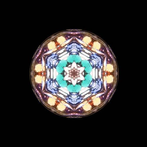 カレイドスコープ(万華鏡)ペンダント zkn209 画像