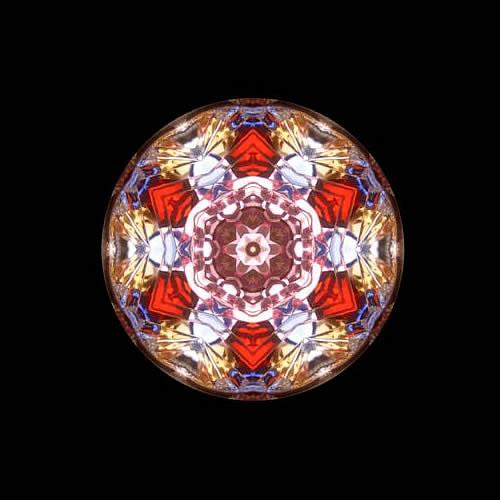 カレイドスコープ(万華鏡)ペンダント zkn210 画像