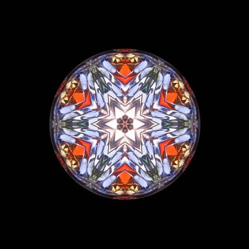 カレイドスコープ(万華鏡)ペンダント zkn211 画像