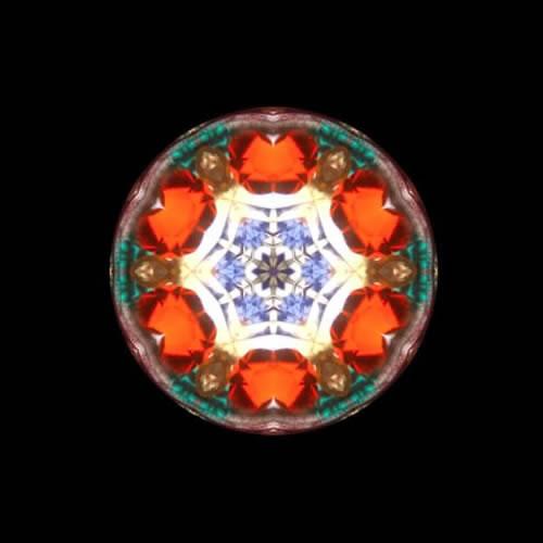 カレイドスコープ(万華鏡)ストラップ zks207 画像