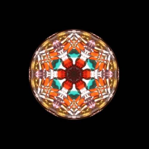 カレイドスコープ(万華鏡)ストラップ zks209 画像