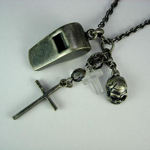 シルバーホイッスル(Whistle Charm)ペンダント zp116 画像