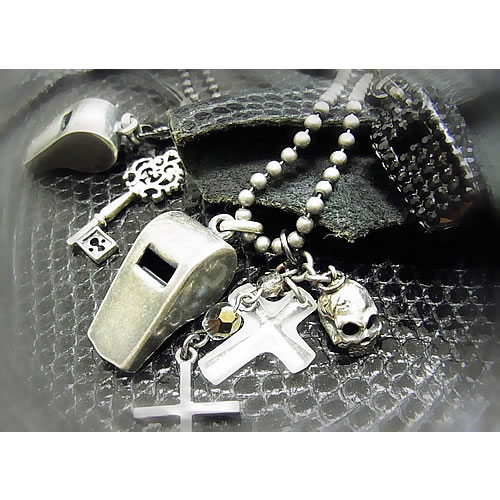 シルバーホイッスル(Whistle Charm)ペンダント zp118