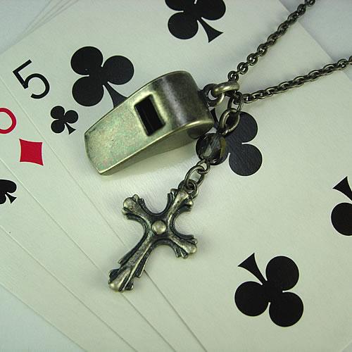 シルバーホイッスル(Whistle Charm)ペンダント zp118 画像